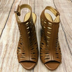 Chinese Laundry peep toe bootie New